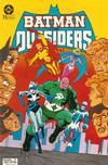 Cover for Batman y los Outsiders (Zinco, 1986 series) #7