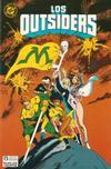 Cover for Batman y los Outsiders (Zinco, 1986 series) #25