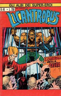 Cover Thumbnail for Gli Albi dei Super-Eroi (Editoriale Corno, 1973 series) #48