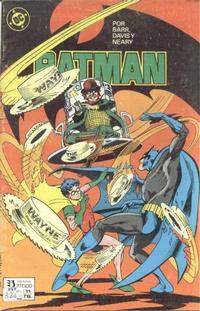 Cover Thumbnail for Batman (Zinco, 1987 series) #11