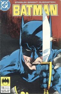 Cover Thumbnail for Batman (Zinco, 1987 series) #30