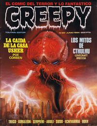 Cover Thumbnail for Creepy (Toutain Editor, 1979 series) #60