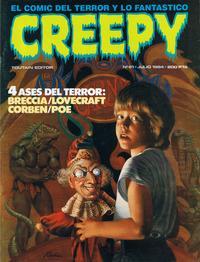 Cover Thumbnail for Creepy (Toutain Editor, 1979 series) #61