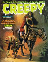 Cover Thumbnail for Creepy (Toutain Editor, 1979 series) #78