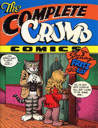 Cover Thumbnail for The Complete Crumb Comics (Fantagraphics, 1987 series) #3 - Starring Fritz the Cat