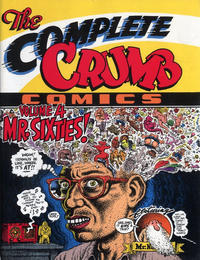 Cover Thumbnail for The Complete Crumb Comics (Fantagraphics, 1987 series) #4 - Mr. Sixties! [First Printing]