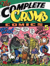 Cover Thumbnail for The Complete Crumb Comics (Fantagraphics, 1987 series) #5 - Happy Hippy Comix [First Printing]
