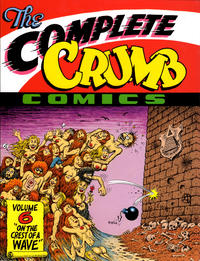 Cover Thumbnail for The Complete Crumb Comics (Fantagraphics, 1987 series) #6 - On the Crest of a Wave