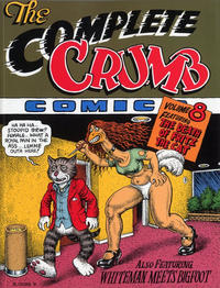 Cover for The Complete Crumb Comics (Fantagraphics, 1987 series) #8 - The Death of Fritz the Cat