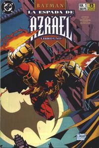 Cover for Batman: La espada de Azrael (Zinco, 1993 series) #1