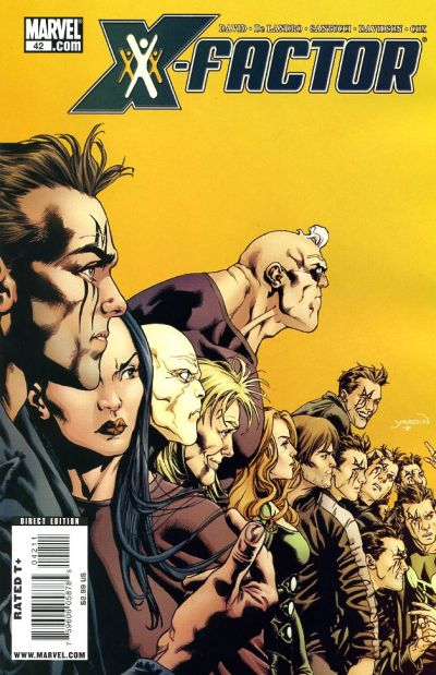 Cover for X-Factor (Marvel, 2006 series) #42