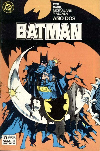 Cover for Batman (Zinco, 1987 series) #6