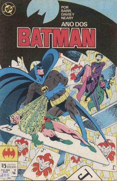 Cover for Batman (Zinco, 1987 series) #7