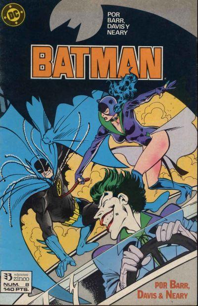Cover for Batman (Zinco, 1987 series) #8