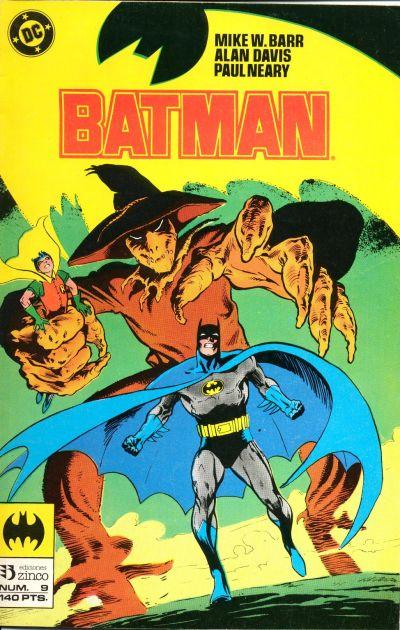 Cover for Batman (Zinco, 1987 series) #9