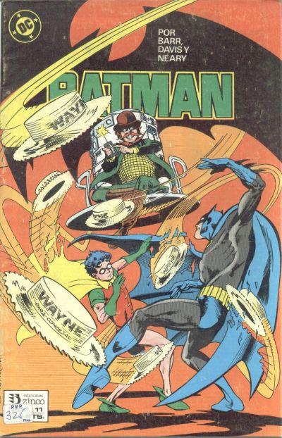 Cover for Batman (Zinco, 1987 series) #11