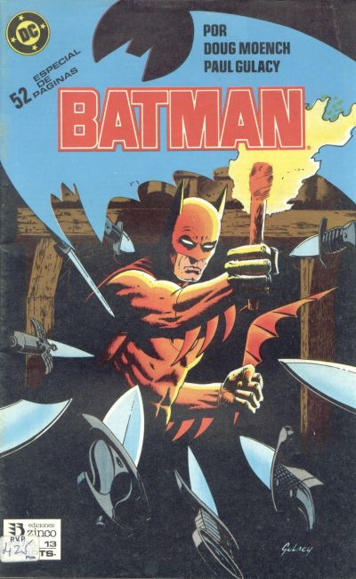 Cover for Batman (Zinco, 1987 series) #13