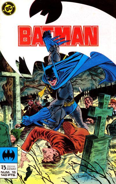 Cover for Batman (Zinco, 1987 series) #15