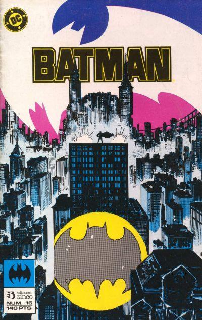 Cover for Batman (Zinco, 1987 series) #16