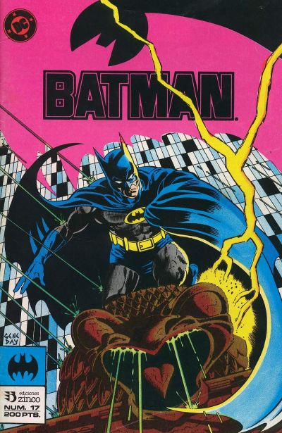 Cover for Batman (Zinco, 1987 series) #17