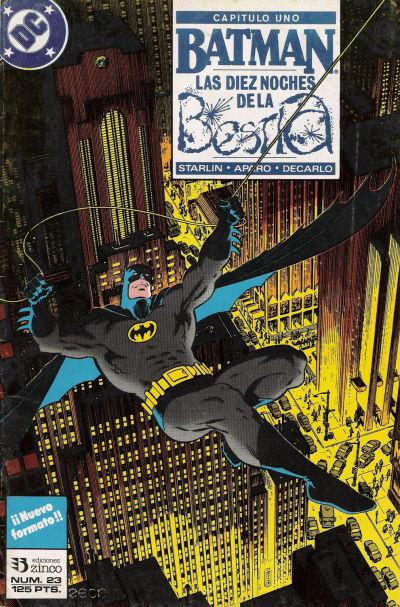 Cover for Batman (Zinco, 1987 series) #23