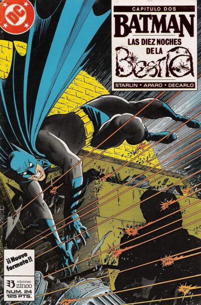 Cover for Batman (Zinco, 1987 series) #24