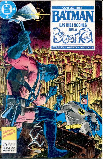 Cover for Batman (Zinco, 1987 series) #25