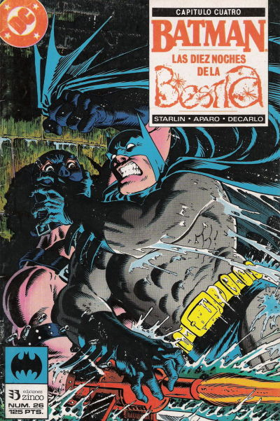 Cover for Batman (Zinco, 1987 series) #26