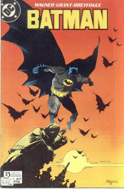 Cover for Batman (Zinco, 1987 series) #27