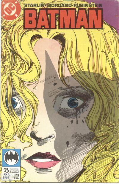 Cover for Batman (Zinco, 1987 series) #29