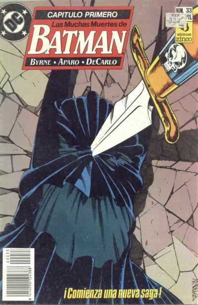 Cover for Batman (Zinco, 1987 series) #33