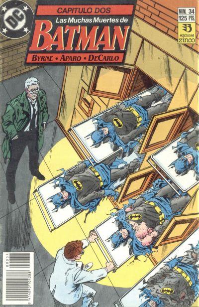 Cover for Batman (Zinco, 1987 series) #34