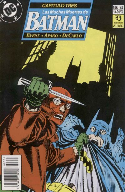 Cover for Batman (Zinco, 1987 series) #35