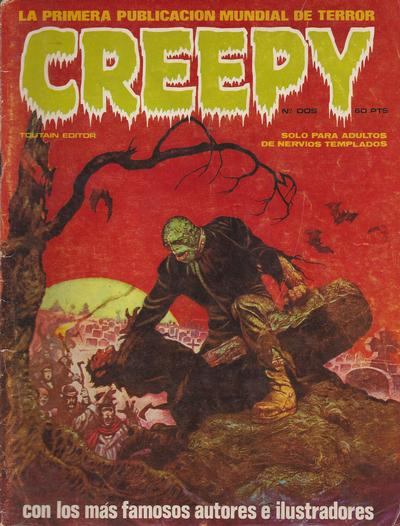 Cover for Creepy (Toutain Editor, 1979 series) #2