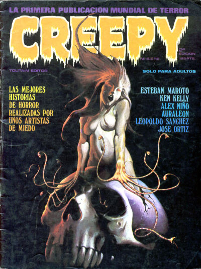Cover for Creepy (Toutain Editor, 1979 series) #7