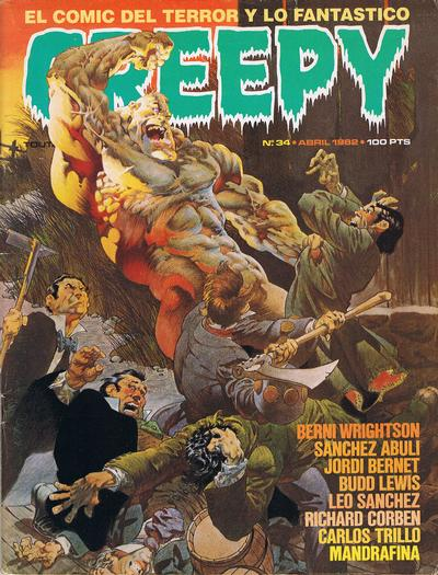 Cover for Creepy (Toutain Editor, 1979 series) #34