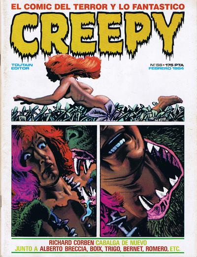 Cover for Creepy (Toutain Editor, 1979 series) #56