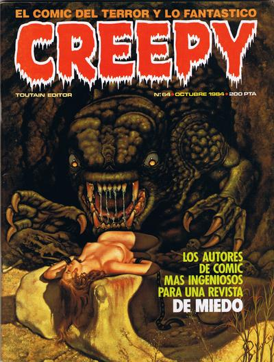 Cover for Creepy (Toutain Editor, 1979 series) #64