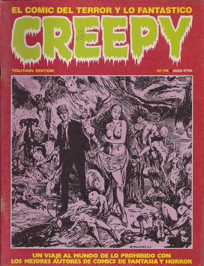 Cover for Creepy (Toutain Editor, 1979 series) #76
