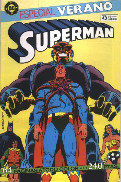 Cover for Especial Superman (Zinco, 1987 series) #1