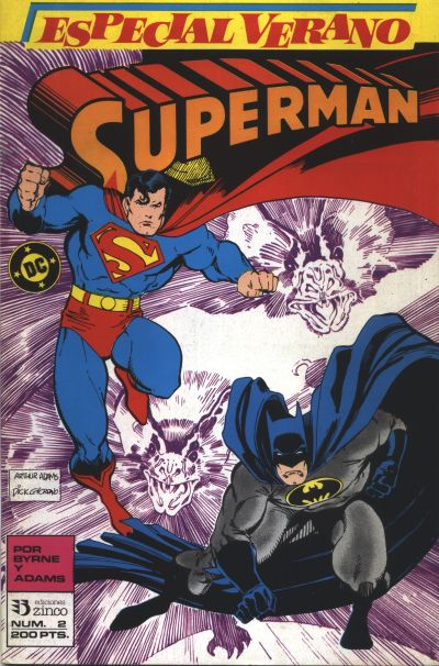 Cover for Especial Superman (Zinco, 1987 series) #2