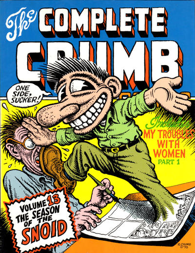 Cover for The Complete Crumb Comics (Fantagraphics, 1987 series) #13 - The Season of the Snoid