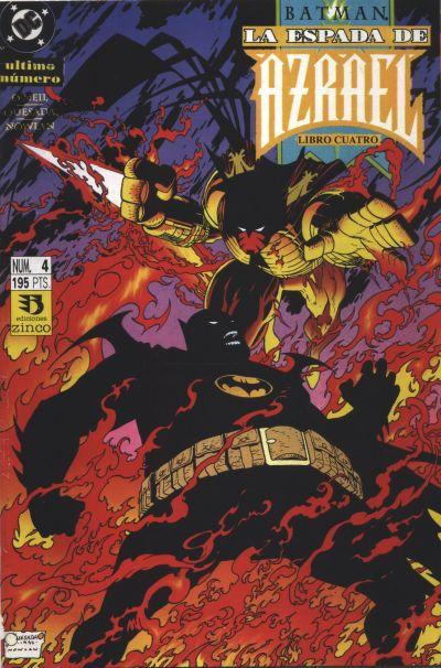 Cover for Batman: La espada de Azrael (Zinco, 1993 series) #4