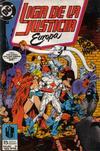 Cover for Liga de la Justicia de Europa (Zinco, 1989 series) #3