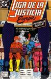 Cover for Liga de la Justicia de Europa (Zinco, 1989 series) #6