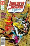 Cover for Liga de la Justicia de Europa (Zinco, 1989 series) #25