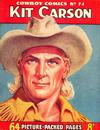 Cover for Cowboy Comics (Amalgamated Press, 1950 series) #74