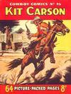 Cover for Cowboy Comics (Amalgamated Press, 1950 series) #76