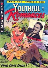 Cover Thumbnail for Youthful Romances (Ribage, 1953 series) #18 [4]