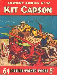 Cover Thumbnail for Cowboy Comics (Amalgamated Press, 1950 series) #56